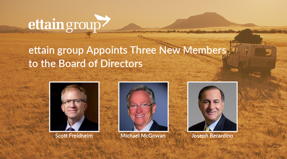 Leading Talent Solutions Provider ettain group Appoints Three New Members to the Board of Directors