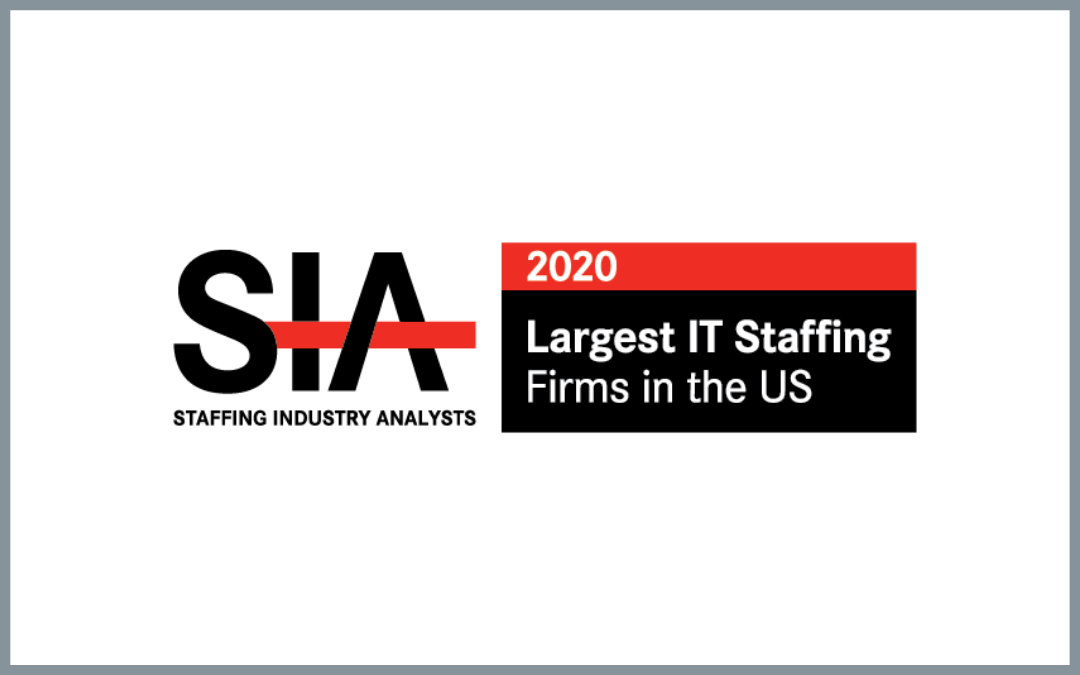 ettain group Named 12th Largest IT Staffing Firm in the U.S., according to Staffing Industry Analysts (SIA)
