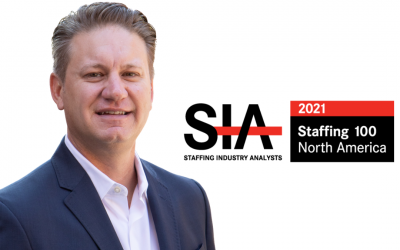 ettain group CEO, Trent Beekman, Recognized as One of The Most Influential People in the Staffing Industry